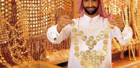 dubai gold jewelery