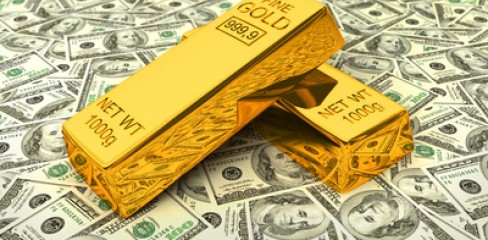 gold and USD.