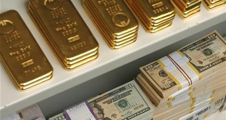 euro and gold