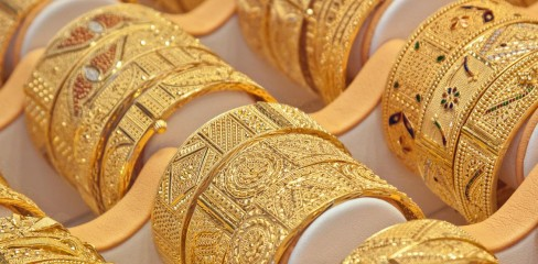 golden jewellary